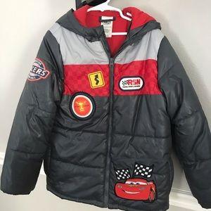 NWOT boys Cars jacket